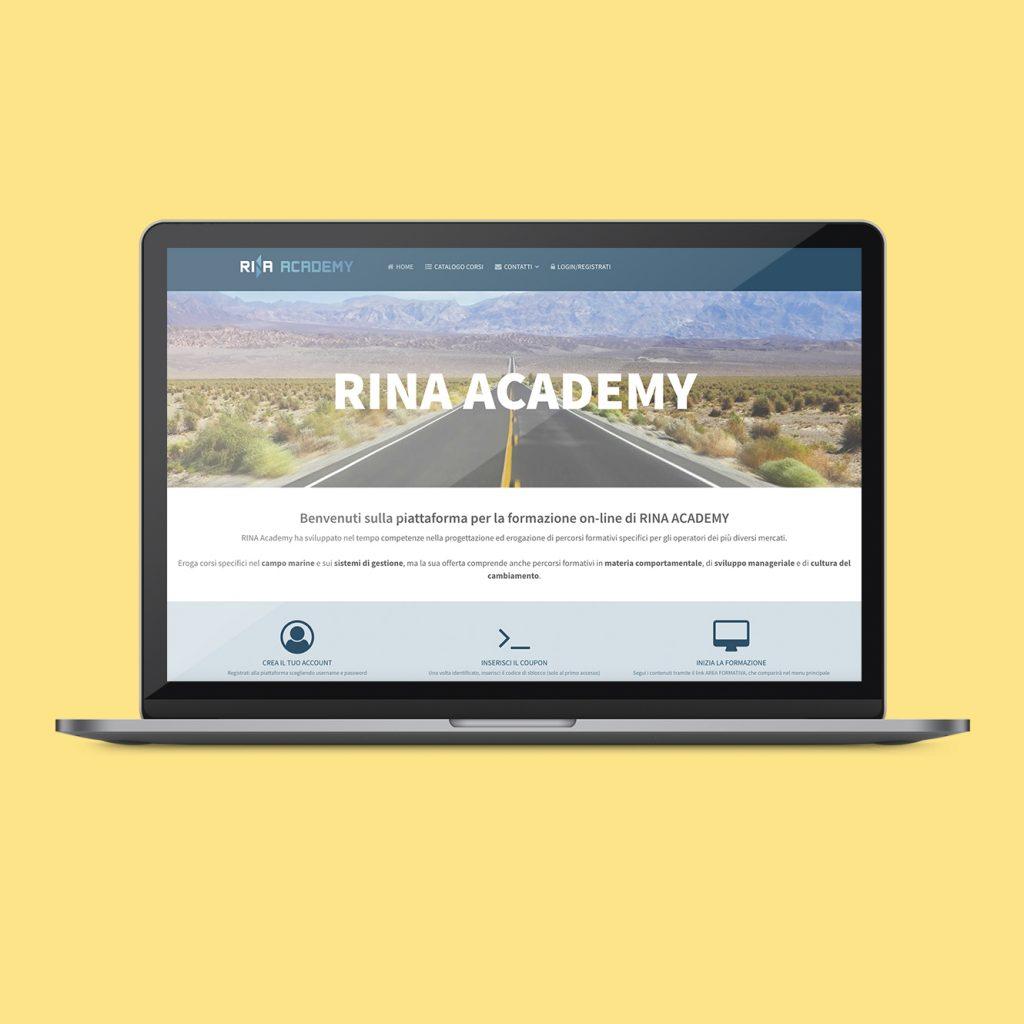 Piattaforma: Rina Academy