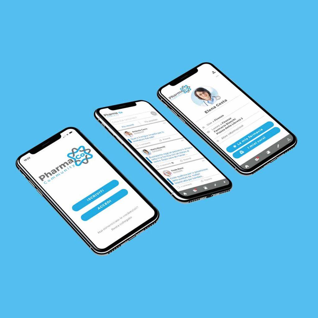 App: Pharma Community