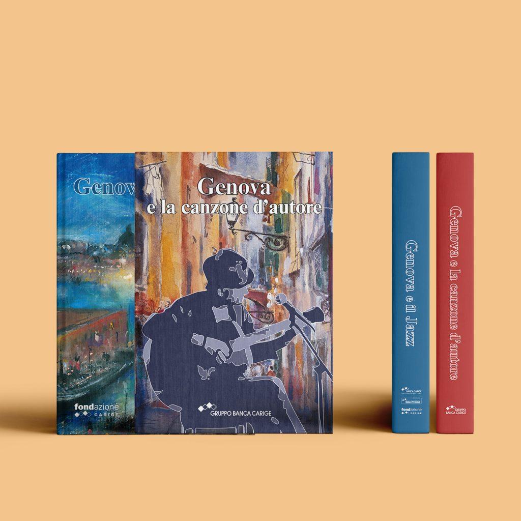 Prodotto editoriale: libri per Gruppo Banca Carige